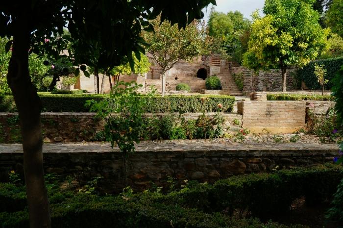 Сад в верхней Альгамбре