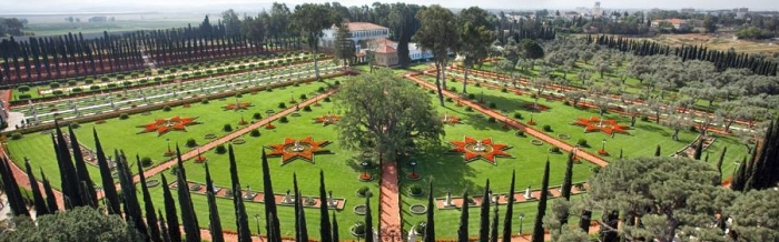 Бахайские сады в Акко