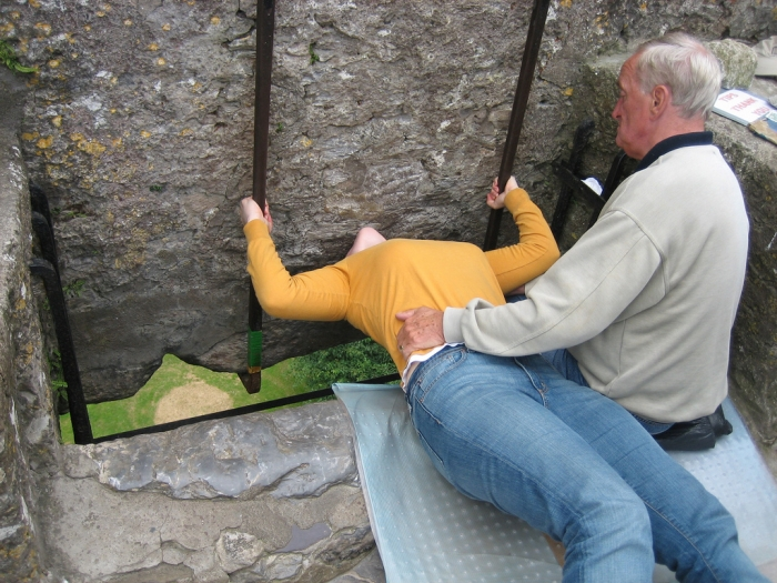 Ритуал целования камня красноречия