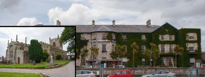 Отель в Балкели-хаус и средневековая церковь Бомариса