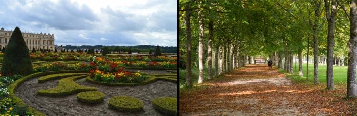 Парковая и садовая часть Версаля