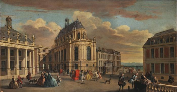 Версаль в 1710 году
