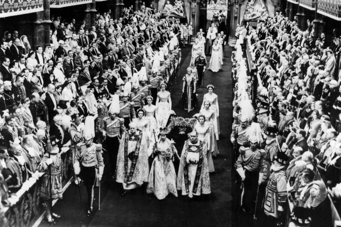 Коронация в Вестминстерском аббатстве
