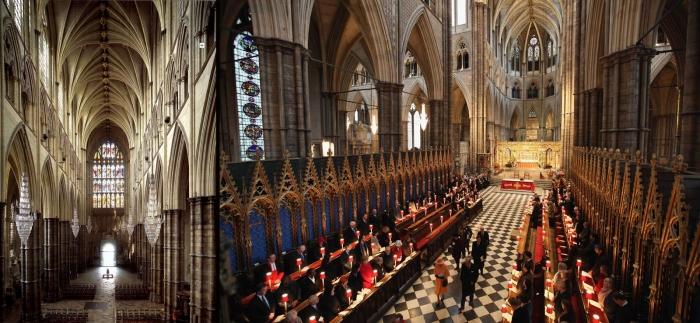 Фото Вестминстерского аббатства внутри
