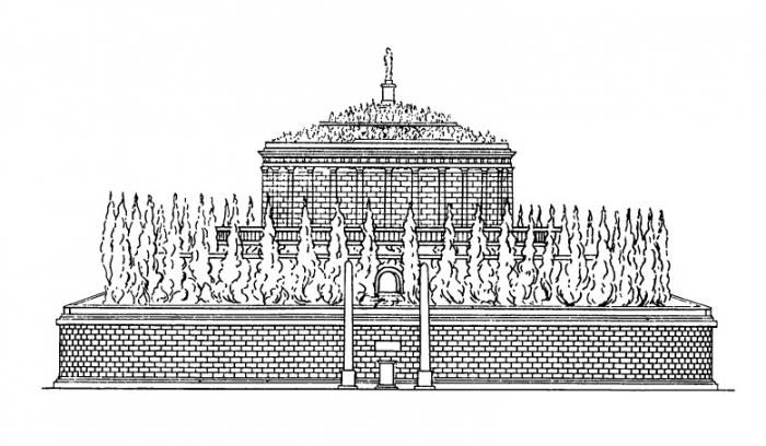 Реконструкция оригинального вида мавзолея Адриана