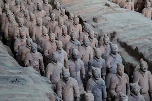Терракотовая армия Цинь Шихуанди в Сиане